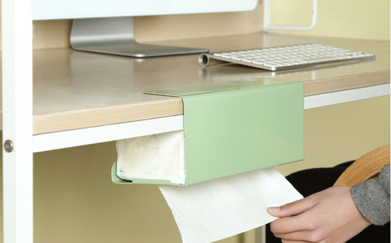Hanging Tissue Holder Use on tabletops